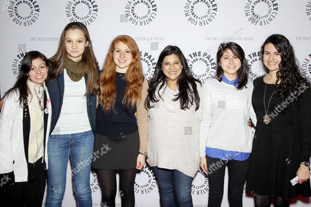 Editorial image of The Paley Center For Media Presents: Portrayals Of Women In Science, Technology, Engineering & Math, New York, America - 08 Dec 2014