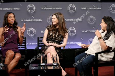 Aisha Tyler, Carrie Kempe, Reshma Saujani (Moderator)