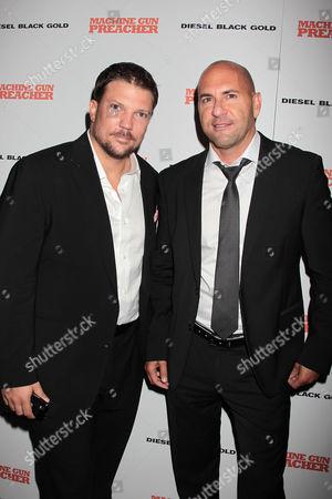 Stock Photo of Craig Chapman and Gary Safady (Producers)
