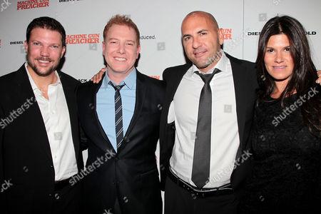 Editorial photo of 'Machine Gun Preacher' film screening, New York, America - 13 Sep 2011