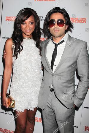 Tiffany Hines and Adi Shankar