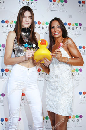 Editorial image of 'Sugar Factory' store opening, New York, America - 20 Jun 2013