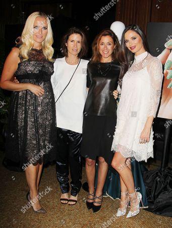 Stock Image of Keren Craig, Gucci Westman, Julia Goldin and Georgina Chapman