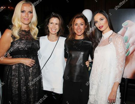 Editorial image of Revlon by Marchesa Launch for 3D Jewel Appliques, New York, America - 03 Oct 2013