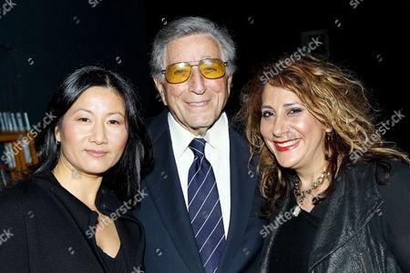 Unjoo Moon (Director), Tony Bennett and Jennifer Lebeau (Producer)