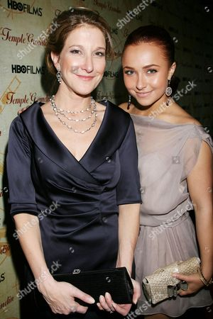 Emily Gerson Saines ( Producer ) and Hayden Panettiere