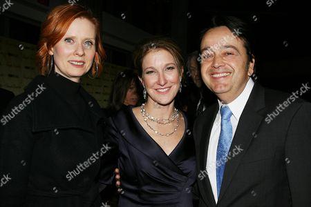 Cynthia Nixon, Emily Gerson Saines ( Producer ) and Len Amato