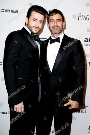 Marc Jacobs with boyfriend Harry Louis