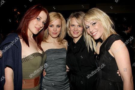 Nikola Bedingfield, Rachel McAdams, Kayleen McAdams and Natasha Bedingfield