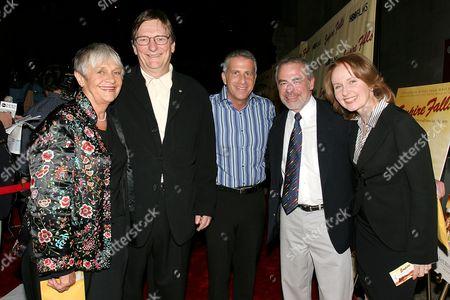 Estelle Parsons, Fred Schepisi, Marc Platt, Richard Russo and Kate Burton