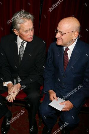 Michael Douglas and Edward R. Pressman