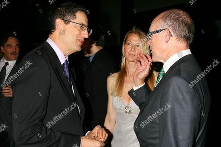 Tom Rothman, Suzanne Johnson and Woody Johnson