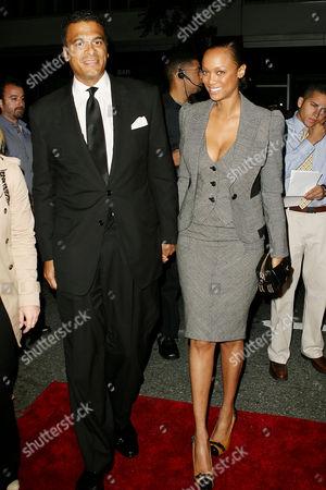 Tyra Banks and boyfriend John Utendahl