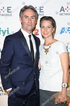 Mike Wolfe with wife