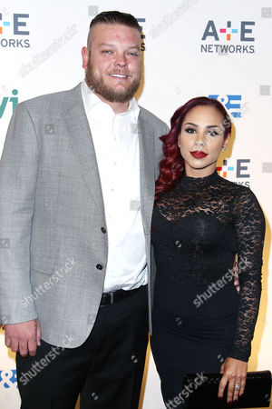 Stock Image of Corey Harrison with guest
