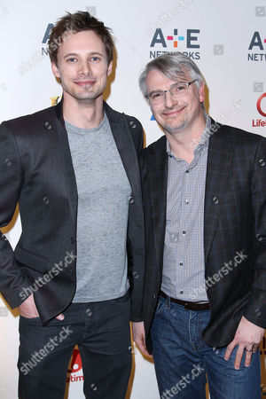 Bradley James and Glen Mazzara