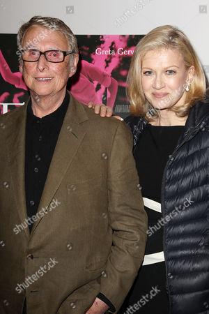 Mike Nichols and Diane Sawyer