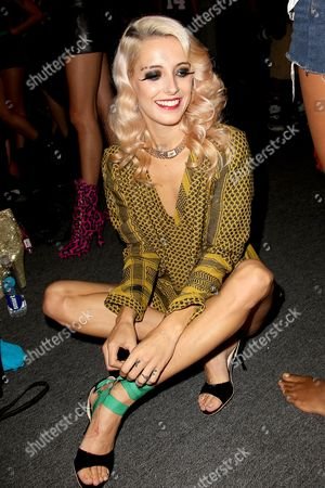Chloe Norgaard on the front row