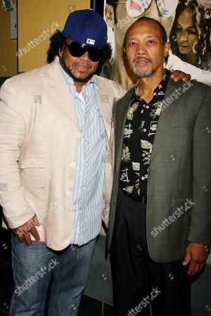 DJ Shino and Paul Calderon