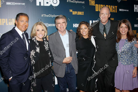 Editorial image of 'The Diplomat' HBO Documentary film premiere, New York, America - 14 Oct 2015