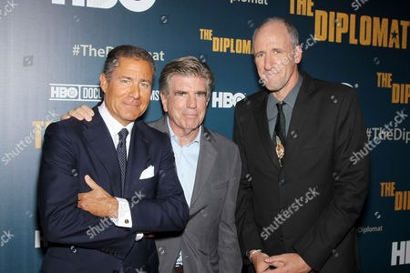 Richard Plepler (Chairman, CEO HBO), Tom Freston (Exc. Producer), David Holbrooke (Director)