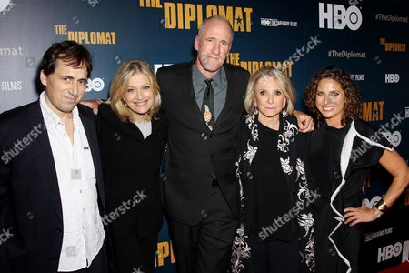 Anthony Holbrooke, Diane Sawyer, David Holbrooke (Director), Sheila Nevins (Pres. HBO Doc. Films), Stacey Reiss (Producer)