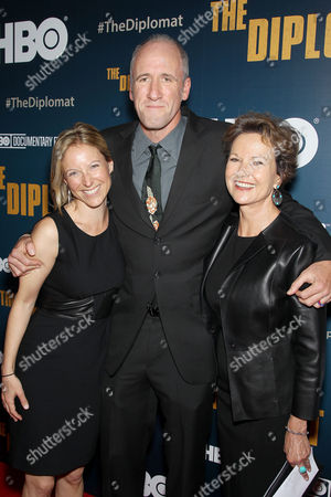 Stock Image of Elizabeth Jennings, David Holbrooke (Director), Kati Marton