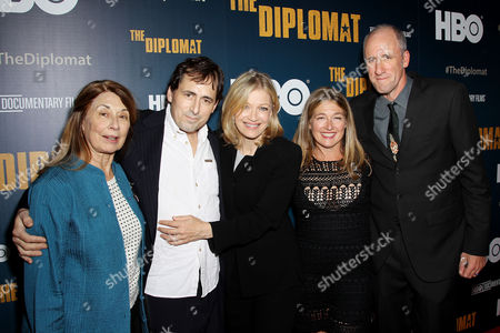 Litty Holbrooke, Anthony Holbrooke, Diane Sawyer, David Holbrooke (Director), David Holbrooke (Director), Sarah Holbrooke