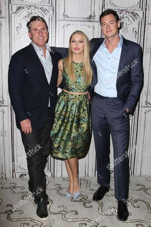 Nicholas Sparks, Teresa Palmer and Benjamin Walker