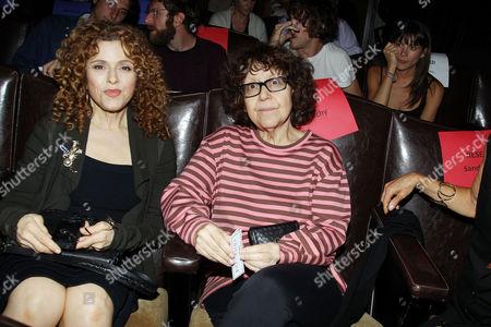 Bernadette Peters and Ingrid Sischy