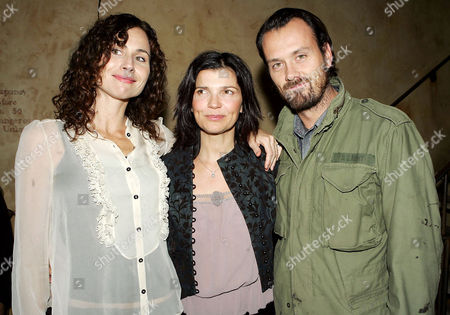 Minnie Driver, Ali Hewson and Rogan Gregory