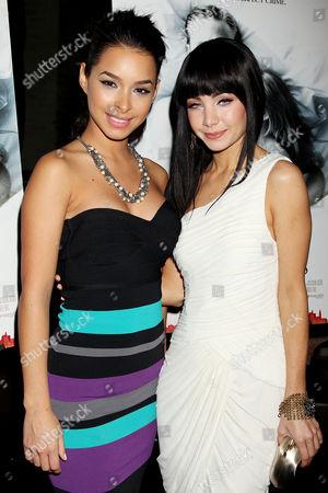 Jessica Caban and Ksenia Solo