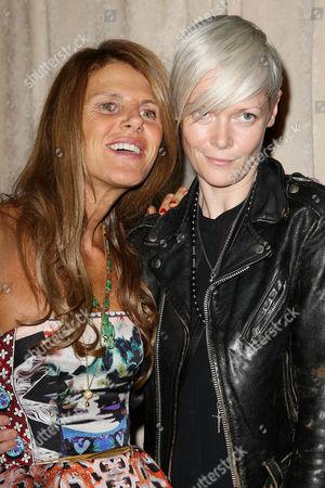 Anna Dello Russo and Kate Lanphear
