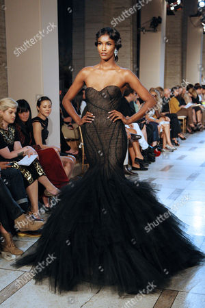 Editorial picture of Zac Posen Show, Spring 2012 Mercedes-Benz Fashion Week, New York, America - 11 Sep 2011