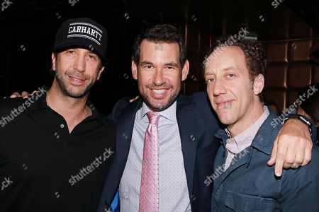 David Schwimmer, Doug Ellin and Joey Slotnick
