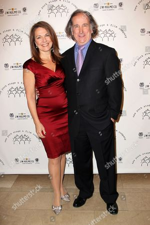 Stock Picture of Christa Justus and Mark Linn-Baker