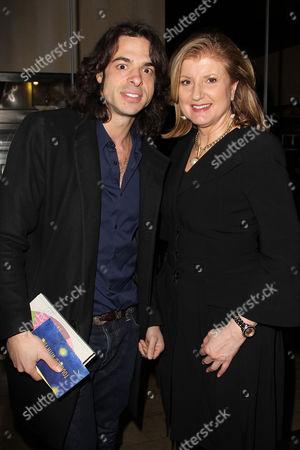 Paul Dalio and Arianna Huffington