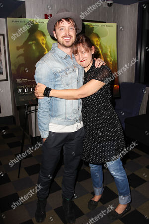 Stock Picture of Aaron Paul and Kat Chandler