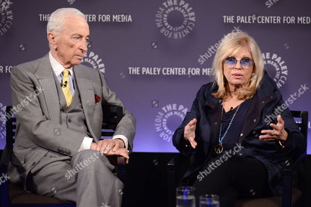 Gay Talese and Nancy Sinatra