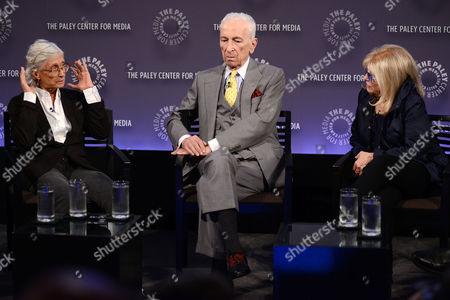 Twyla Tharp, Gay Talese and Nancy Sinatra