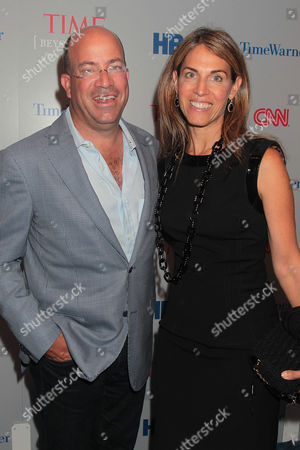 Jeff Zucker and wife Caryn Zucker