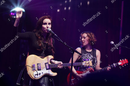 Editorial picture of Secret Someones in concert at the Highline Ballroom, New York, America - 16 Jan 2014