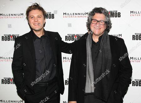 Michael Pitt and Raymond De Felitta