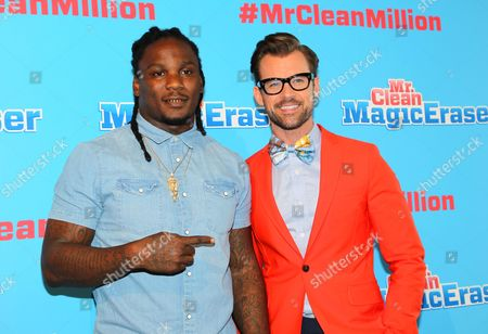 Brad Goreski and Chris Johnson