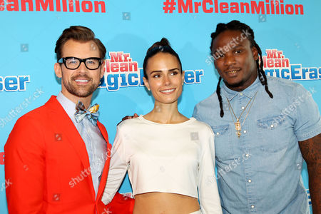 Brad Goreski, Jordana Brewster, Chris Johnson