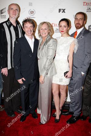 Tom Noonan, Martin Short, Glenn Close, Rose Byrne and Todd A. Kessler (Co-creator)