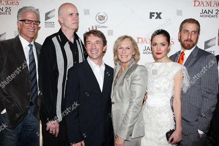 Ted Danson, Tom Noonan, Martin Short, Glenn Close, Rose Byrne and Todd A. Kessler (Co-creator)