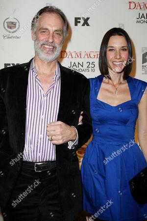 Keith Carradine and Hayley DuMond (wife)