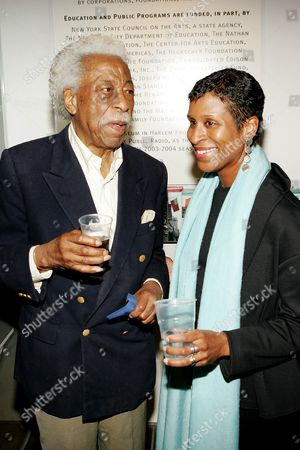 Gordon Parks with Michelle Byrd