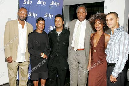 Michelle Byrd with Rodney Evans, Danny Glover, Aunjanue Ellis and Larry Gilliard Jnr